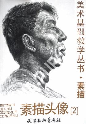 素描头像(2)/美术基础教学丛书;;;